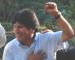Evo Morales en La Habana