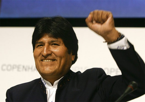 Evo Morales Foto: REUTERS/Scanpix/Bob Strong