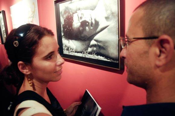 nauguracion de la exposición Tina Modotti en el Pabellón Cuba, en La Habana, Cuba, 4 de diciembre de 2009. AIN FOTO/Abel ERNESTO