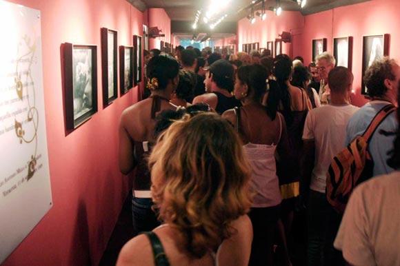 Inauguracion de la exposición Tina Modotti en el Pabellón Cuba, en La Habana, Cuba, 4 de diciembre de 2009. AIN FOTO/Abel ERNESTO