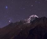 El Himalaya en la noche estrellada