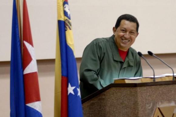 Intervencion de Hugo Chávez Frías., presidente de la República Bolivariana de Venezuela, durante la clausura de la X Sesión de la Comisión Intergubernamental Cuba- Venezuela, en el Palacio de las Convenciones, en Ciudad de la Habana, el 12 de diciembre de 2009. AIN FOTO/ Marcelino VAZQUEZ HERNANDEZ