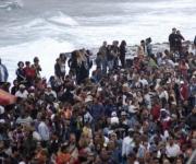 Personas asistentes al concierto realizado por la famosa banda estadounidense Kool & the Gang en la Tribuna Antiimperialista José Martí, en La Habana
