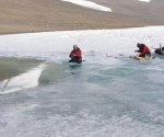 Lago prehistórico de la Antártida