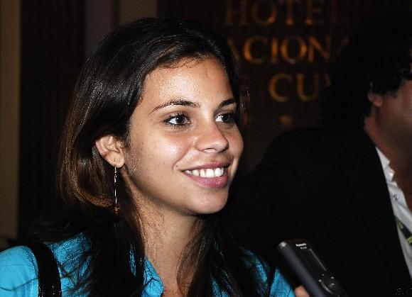 """Mirielis Cejas, protagonista del filme cubano """"Lisanka"""", película en competencia en el XXXI Festival Internacional del Nuevo Cine Latinoamericano, en La Habana, Cuba, el 11 de diciembre de 2009. AIN FOTO/Abel Ernesto RUBIO"""