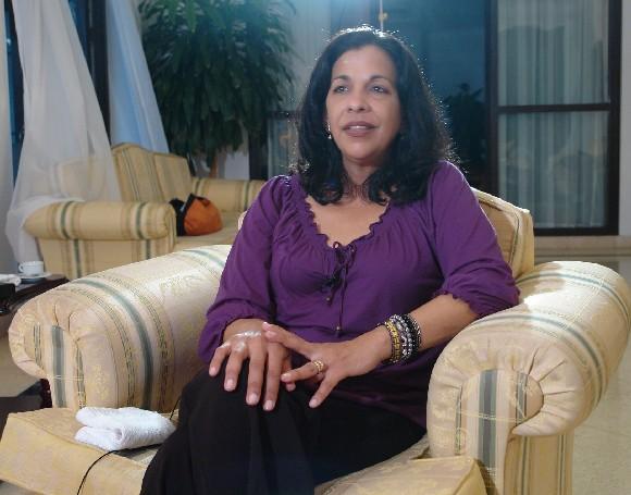 Patricia Rodas, canciller de Honduras. Foto: Cubadebate