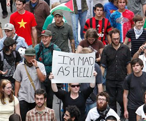 Protestas en Pittsburgh contra la Cumbre del G-20