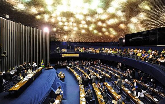 Senado Brasileño (Foto: AFP)