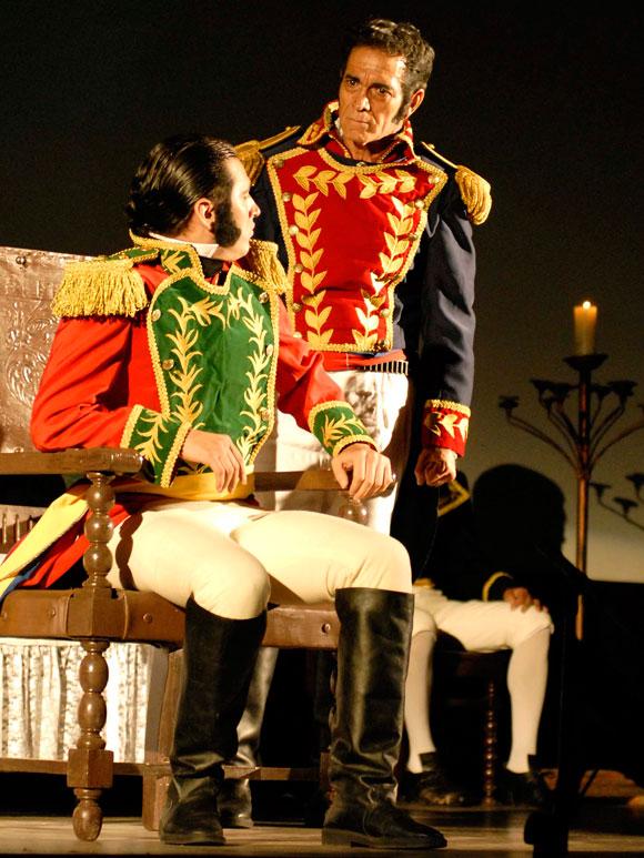 """Obra teatral """"Bolivar, La gloria de un general"""""""