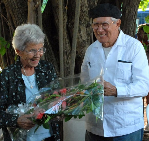 Yolanda Pujols y Salvador Wood (Foto: Roberto Suárez)