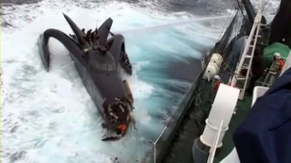 Accidente barco en la Antártida (Foto: AFP)