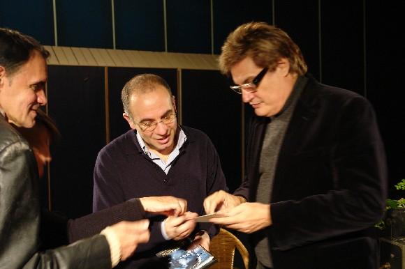 ntrevista con Giuseppe Tornatore, realizada por Amaury Pérez, el 10 de enero de 2010. Foto: Petí