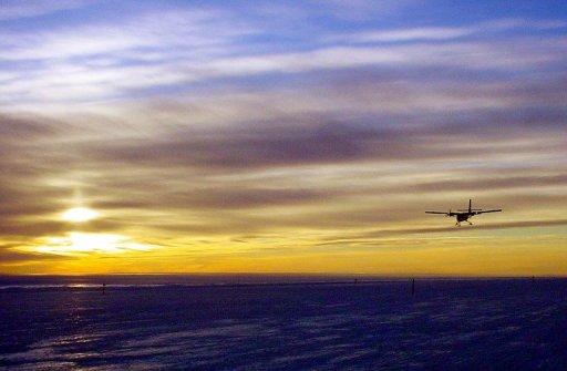 Los exploradores australianos descubrieron en la Antártida uno de los primeros aviones que volaron en el mundo. (Foto: AFP)