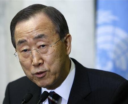 Critican a Ban Ki-moon por declaraciones sobre Egipto