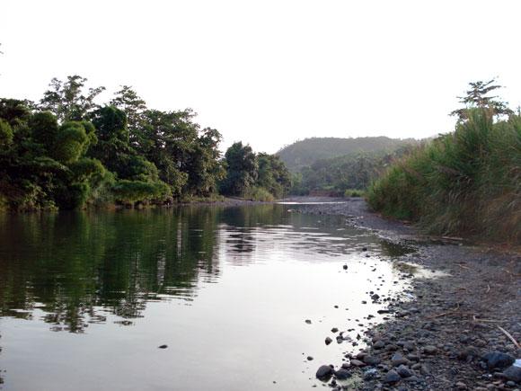 Río Miel. Baracoa, en la provincia de Guantánamo al Oriente de Cuba