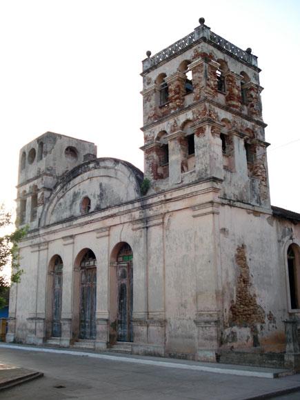 La Iglesia. Baracoa, en la provincia de Guantánamo al Oriente de Cuba