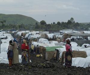 Campamentos en Haití