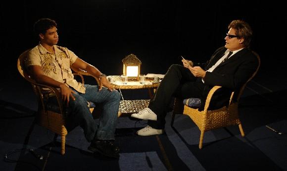Carlos Acosta y Amaury Pérez. Foto: Petí