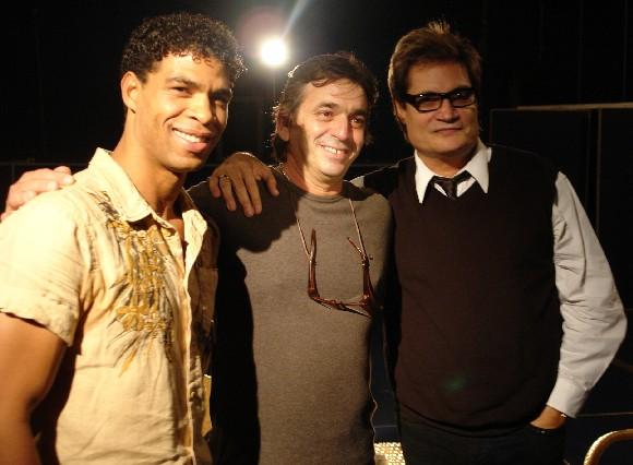 Carlos Acosta, Rafael Solís y Amaury Pérez (Foto: Petí)