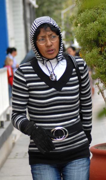 Cubanos con frio invierno de enero de 2010