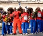 Ceremonia de premiación de los mejores atletas del año 2009, en el Memorial Granma, en Ciudad de La Habana. AIN Foto: Marcelino Vázquez Hernández