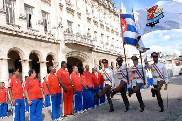 Ceremonia de premiación de los mejores atletas del año 2009, en el Memorial Granma, Museo de la Revolución en Ciudad de La Habana. AIN Foto: Marcelino Vázquez Hernández.