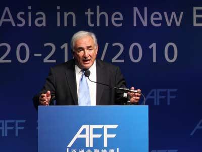 Dominique Strauss Kahn, director del FMI