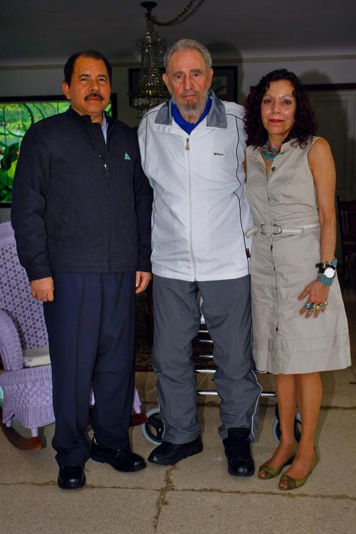 Encuentro de Fidel Castro y Daniel Ortega, enero de 2010. Foto: Archivo de Cubadebate