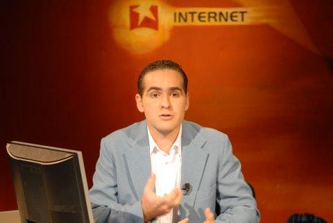 Oliver Zamora, en la Mesa Redonda