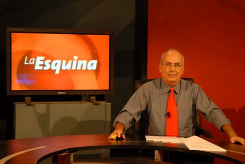 """Reinaldo Taladrid, en su sección de """"La esquina"""""""