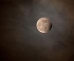 Eclipse de Luna Azul en inicio del 2010. Foto: Jean Paul Roux (NASA)