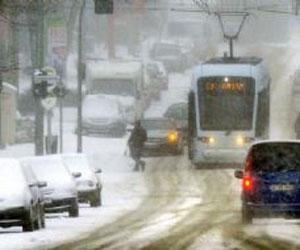 Europa bajo la nieve