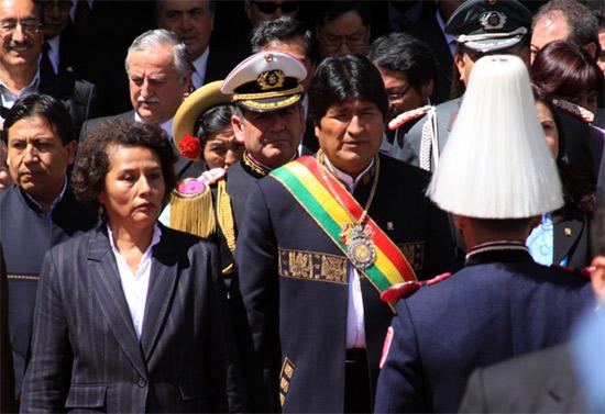 Evo Morales jura su segundo mandato (+ Fotos)