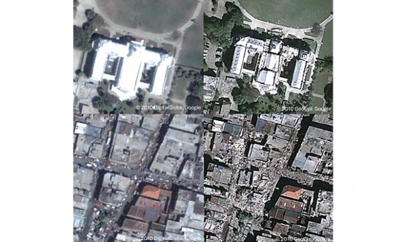 Google Earth antes y después