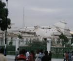 Haití terremoto: así quedó la casa de Gobierno.