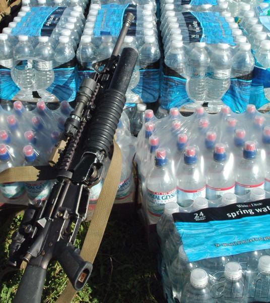 Ayuda norteamericana al pueblo de Haití el 22 de enero de 2010. AIN Juvenal BALAN NEYRA/GRANMA