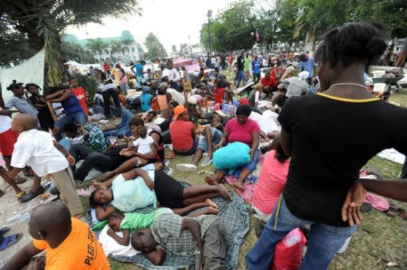 Puerto Principe, campo de refugiados