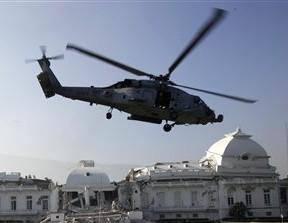 Haití invasión norteamericana terremoto