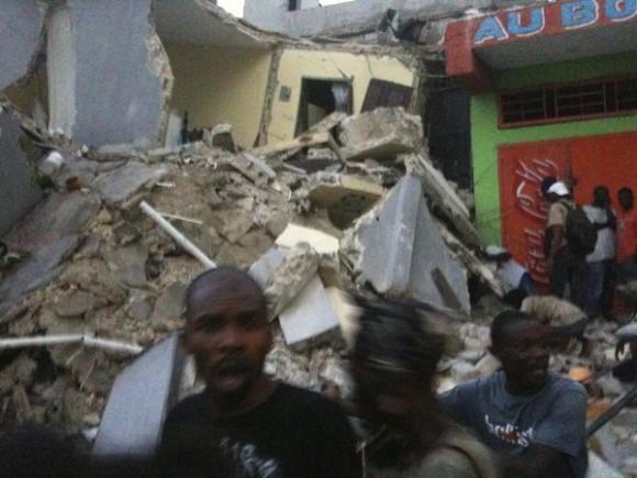 Primeras fotos del terremoto de Haití