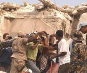 Las primeras fotos del terremoto en Haití (Fuente: Twitter)