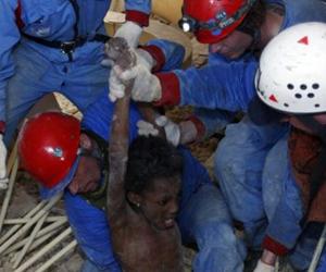 Haití, terremoto. Rescate