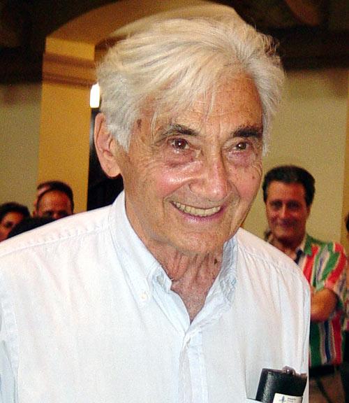 Howard Zinn en La Habana, en el 2004. Foto: La Jiribilla.