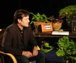 Jorge Perugorría entrevistado por Amaury Pérez (Foto: Petí)