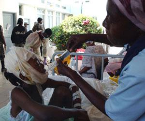 Cuando se acabe el show de la ayuda humanitaria, los médicos cubanos seguirán en Haití