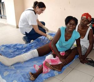 Apagón informativo sobre la ayuda cubana a Haití