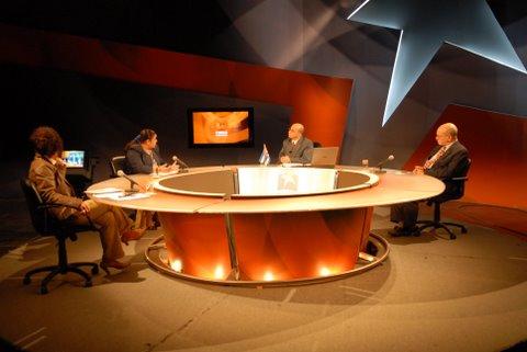 Programa Mesa Redonda. Foto: René Díaz
