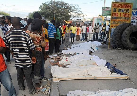 Muertes en Haiti (Foto:AFP)
