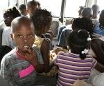 Niños haitianos