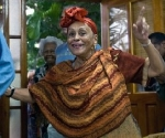 Omara Portuondo (Foto: AFP)