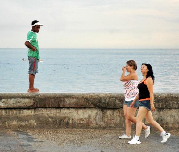 Piropos en La Habana (Foto: Kaloian)